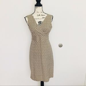 Vintage Gap stretch abstract dress